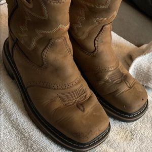 Ricky boy boots size 12M leather